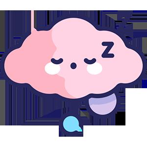 Nube dormida zzz