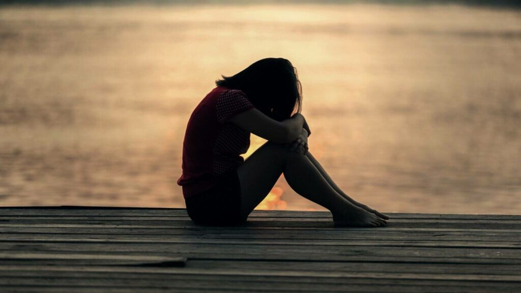 madre con depresión posparto