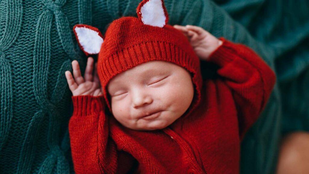 bebé con transición de siestas