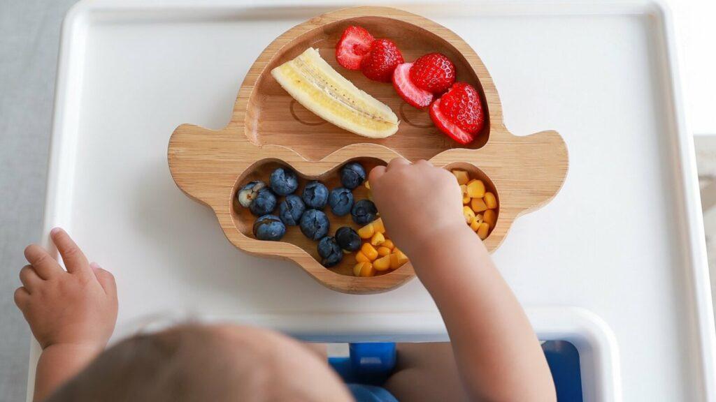 bebé hacienda alimentación para un seño de calidad
