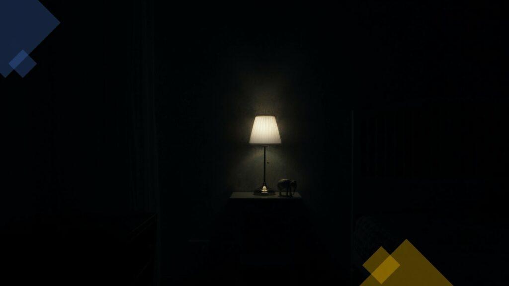 noche con lampara y pesadilla nocturna